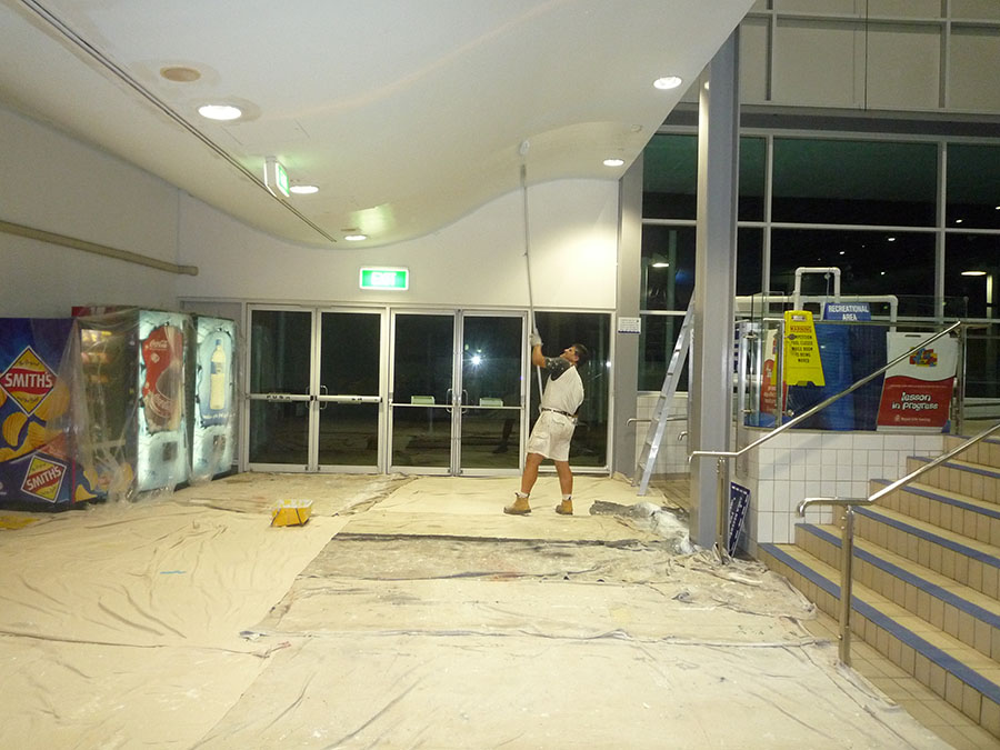 commercial painting in Ryde